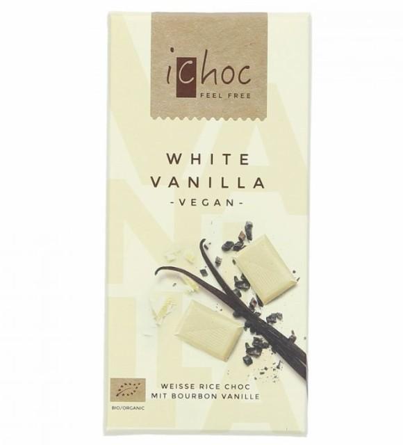 iChoc オーガニックチョコ・ホワイトバニラ 80g  むそう 冬季限定