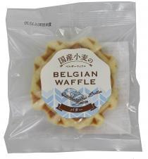 クロスロード 国産小麦のベルギーワッフル バター (6個セット)
