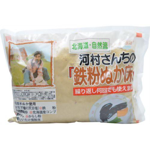 河村さんちの鉄粉ぬか床 1kg 中村食品