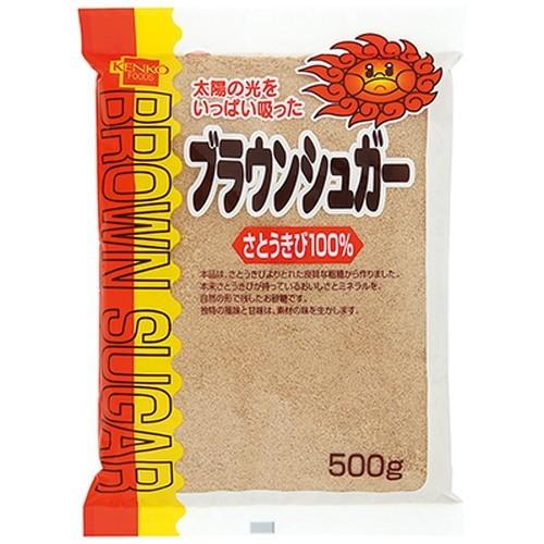 健康フーズ ブラウンシュガー 500g