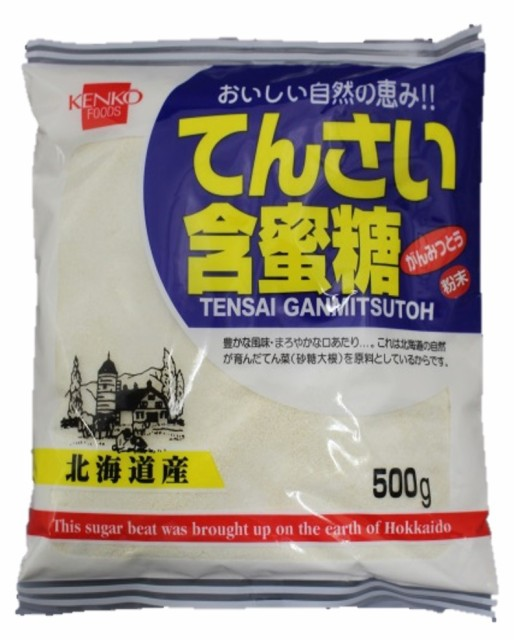 健康フーズ てんさい含蜜糖 粉末 500g