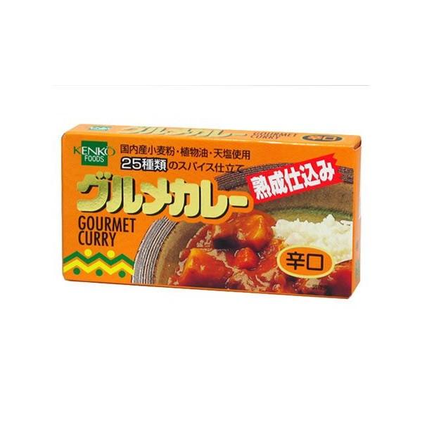 健康フーズ グルメカレールウ(辛口) 120gsu