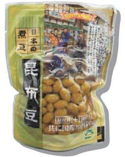 ほんぽ 日本の煮豆 昆布豆 200g