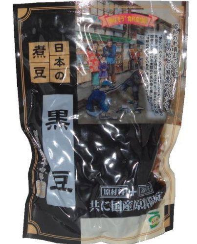 ほんぽ 日本の煮豆 黒豆 140g