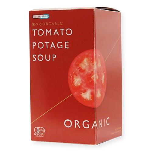 コスモス食品 食べるORGANICトマトポタージュ32.7g(10.9g×3食)