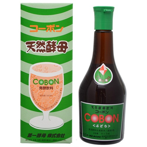 第一酵母 コーボン ぶどう 525ml