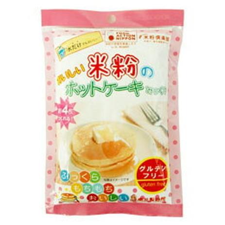 南出製粉 米粉のホットケーキみっくす(無糖)120g