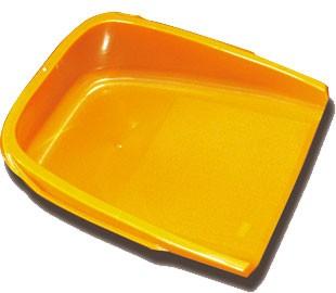 【国産】てみ(小)オレンジ (横)420(縦)450(高さ)165mm 農業用品