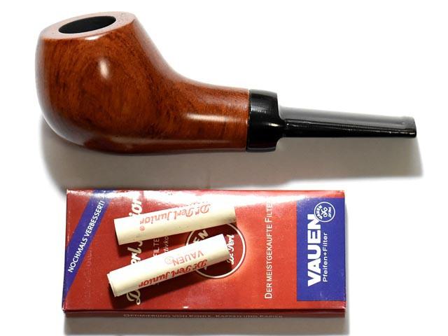 活性炭フィルター付属高級マドロスパイプ(葉タバコ:シャグなど用) 喫煙具