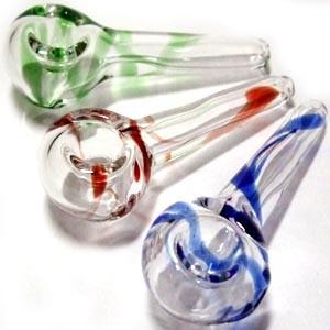 パイレックス製スモールガラスパイプ