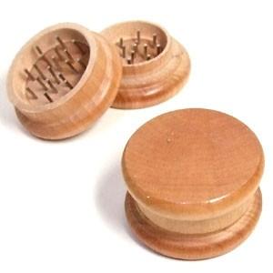 木製グラインダー/ミキサー 喫煙具 葉タバコ(シャグ)など用