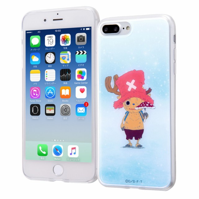 f305eaadcc iphone8plus iphone7plus ケース ワンピース TPUケース + 背面パネル / チョッパー / キノコ one piece グッズ