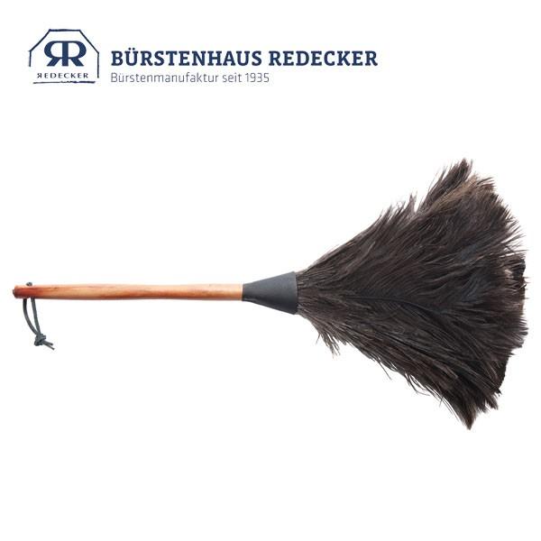 Redecker レデッカー オーストリッチ羽はたき 50cm・Black 4974010 掃除 天然素材 おしゃれ
