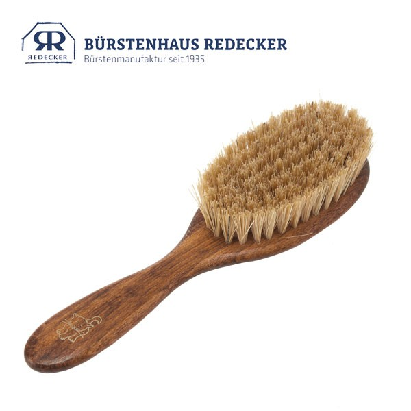 Redecker レデッカー 高級天然木キャットブラシ 豚毛 グルーミング 猫用ブラシ 491019 掃除 天然素材 おしゃれ