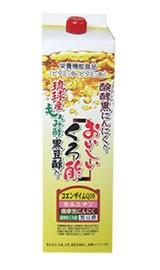 フジスコ おいしい黒酢 1 800ml×4本セット 発酵黒ニンニク 丹波産の黒豆酢配合