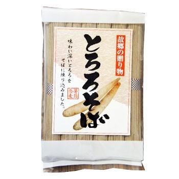 とろろそば 80g×6束 乾麺 山芋 蕎麦 なまため 通販 贈り物 ギフト ギフト ソバ 山芋 とろろ蕎麦