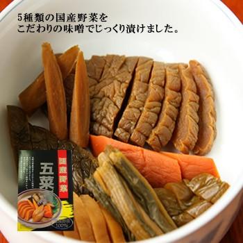 五菜漬 200g ×3個 セット 国産野菜 お漬け物 めし友 通販 なまため グルメ おつまみ 祝 ギフト 漬物 ご飯のお供 つけもの 粗品 プチギ