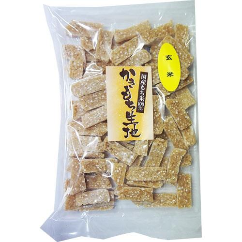 玄米 かきもち生地 230g メール便 お かき餅 菓子 ポイント消化 和菓子 おかし 手作り 簡単 5298 お試し
