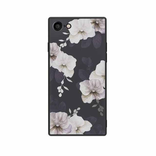 ケース カバー HABITU SQUBE CALLA iPhoneSE(第2世代) iPhone8 iPhone7 ケース 花柄 おしゃれ 大人女子