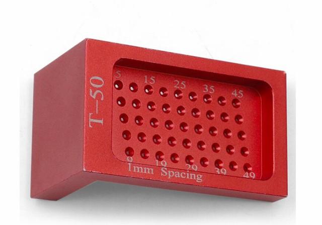 木工 T型スコヤ 直角型 ゲージ 直接マーキングできる定規 測定 高精度 1mm 穴間隔 大工ケガキ工具 アルミ製
