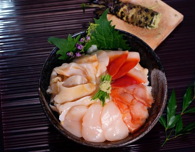 お刺身用 5種の貝づくし 各6枚 30枚×2パック 計60枚 ホタテ貝 つぶ貝 赤貝 北寄貝 石垣貝 冷凍