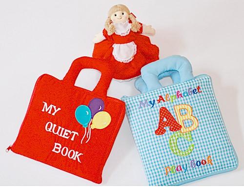 布絵本 my quiet book バルーン my alphabet abc play book おまけ付き