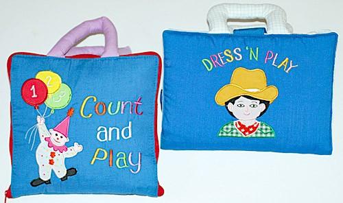 布絵本 ピエロのかずあそびCount and Playカウントアンドプレイ DRESS N PLAYドレス プレイマイケルくんの着せかえセット 幼児教育 送