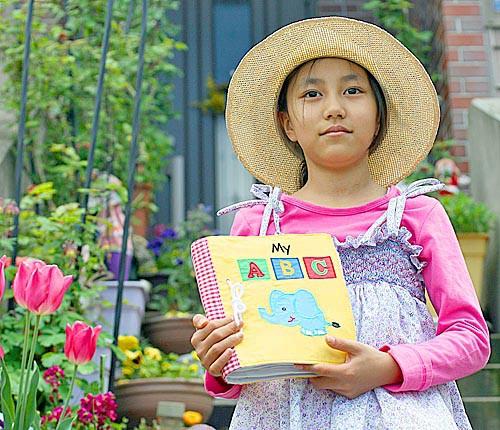 布絵本 MY ABC book New!!英語刺しゅう版 英語教育 幼児教育