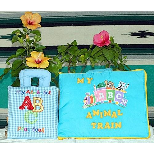 布絵本My Alphabet ABC play book MY ABC ANIMAL TRAIN ピンク ファンタイム・プレイ ラーンギフトセット 英語教育 幼児教育