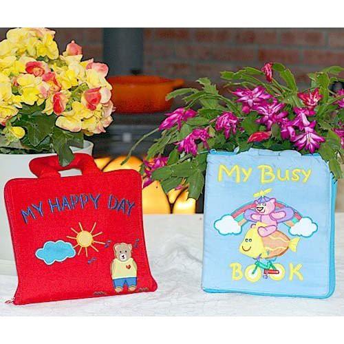 布絵本My Happy Day MY BUSY BOOK マイハッピーディ マイビズィブック英語版 プレイ ラーンギフトセット 幼児教育 送料無料