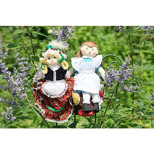 布おもちゃ 布人形 変身人形 フリップオーバードール  ヘンゼルとグレーテル アリス 人形劇童話の世界 ギフトセット 幼児教育