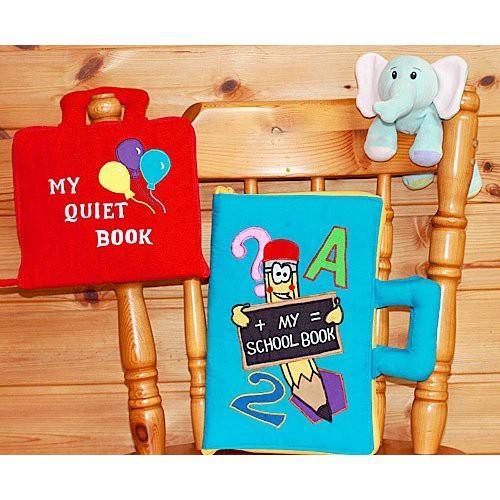 布絵本MY QUIET BOOKバルーン英語版 MY SCHOOL BOOK英語版 おまけ付き ファンタイムシリーズ 幼児教育 送料無料