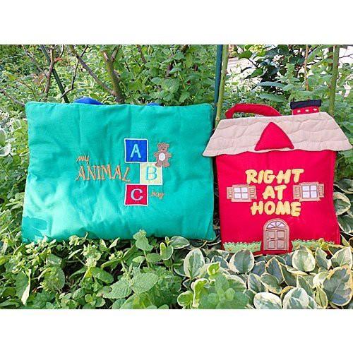 布絵本 My ANIMAL ABC bag RIGHT AT HOME スマートギフトセット 英語教育 幼児教育