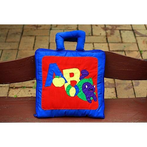 布絵本 英語ABC MY ABC BAG 刺しゅう版 英語教育 幼児教育