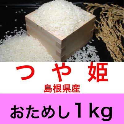 令和2年産 島根県産つや姫1kgおためしに最適