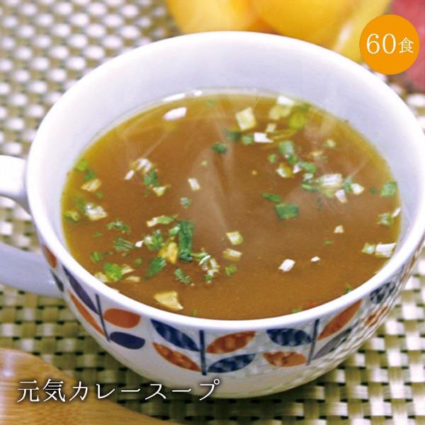 【送料無料】 元気カレースープ60食セット!包装資材簡素化のため訳あり価格でご提供!【特別ご招待】
