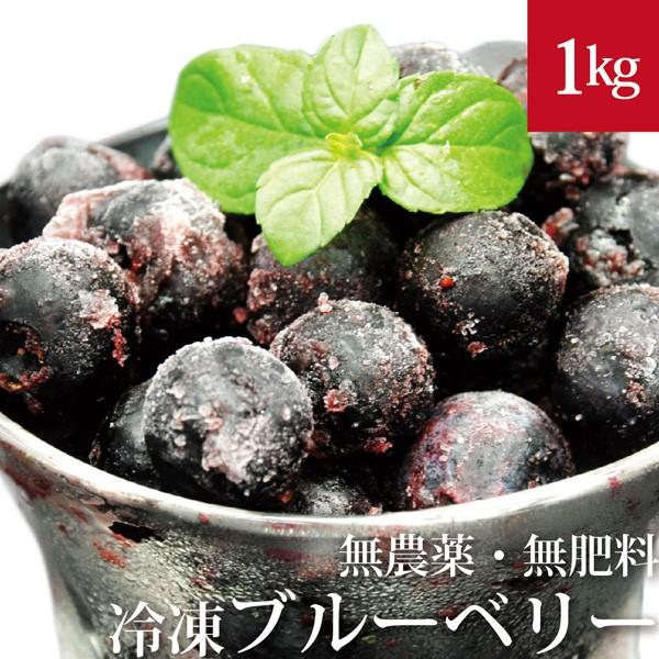 冷凍ブルーベリー 1kg