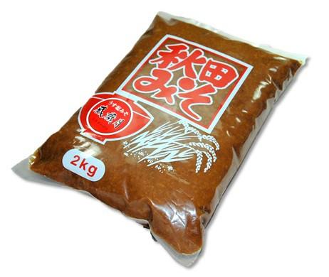 秋田 角館 安藤醸造 うす塩味噌蔵歳月味噌2kg【クール便】