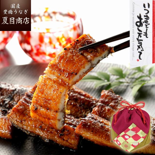 敬老の日 ギフト プレゼント 国産 豊橋うなぎ 蒲焼 カット 45-65g×3袋 ウナギ 鰻 ひつまぶし