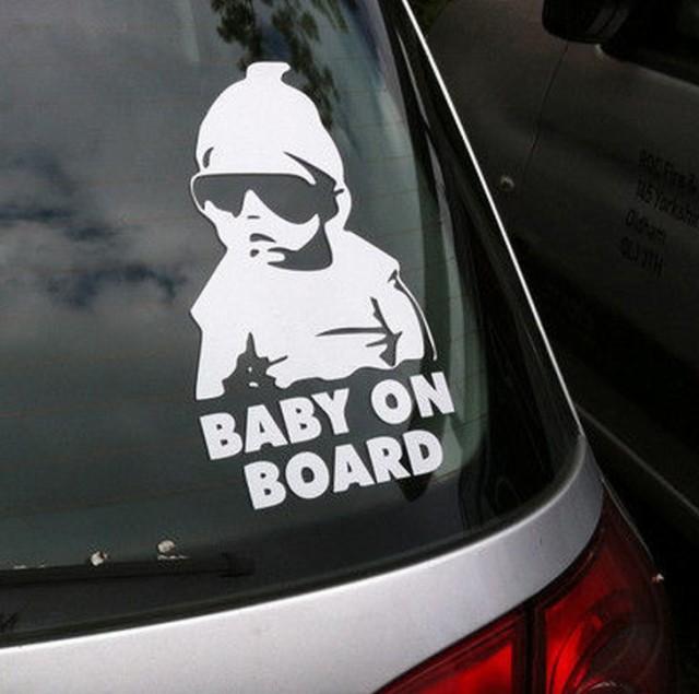 赤ちゃんが乗っています ステッカー 車 かっこいい おしゃれ Baby in car シール 赤ちゃん 子供 ベイビー ベビー セーフティ 大きい 安全