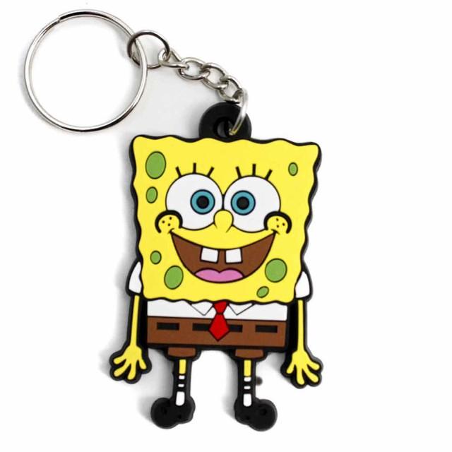 ラバーキーホルダー スポンジボブ SpongeBob Keyholder 自転車 鍵