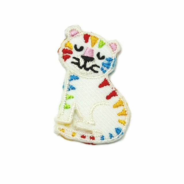 ワッペン アイロン ミニサイズ 猫 ネコ CAT 動物 かわいい アップリケ わっぺん 小さい アイロンで簡単貼り付け