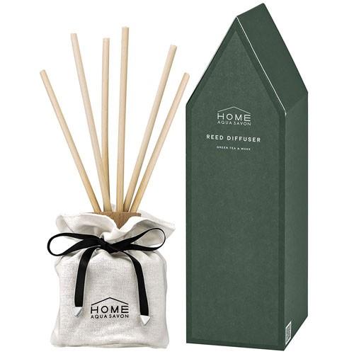 【送料無料】 ホーム アクア シャボン リードディフューザー グリーンティー&ムスクの香り 190ml HOME AQUA SAVON