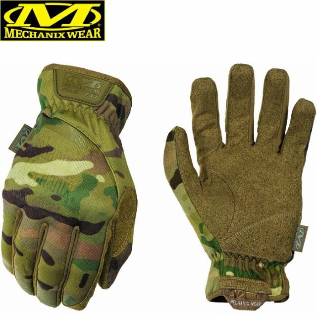 メカニクス グローブ マルチカム FastFit Gloves Mechanix Wear ファストフィットグローブ 軍手 手袋 サバイバル バイク 作業用 手袋 軍