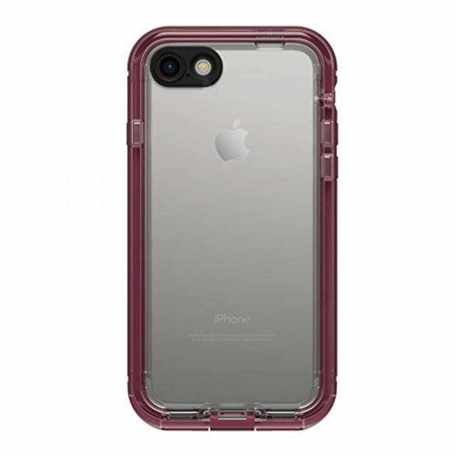 スマホカバ・ケース LifeProof NUUD SERIES Waterproof Case for iPhone 7 (ONLY) - Retail Packaging - PLUM REEF (WILD BERRY/DEEP PL