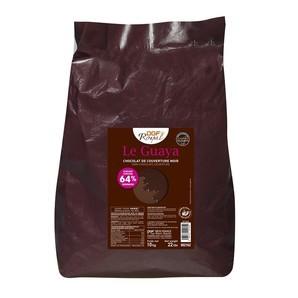 フランス産 DGF ロワイヤル グアヤ ノアール(64%) 10kg  チョコレート コイン状