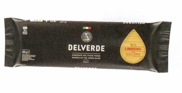 イタリア産 最高級デルヴェルデ(Delverde)N.11 リングイネ  500g  デュラム小麦セモリナ