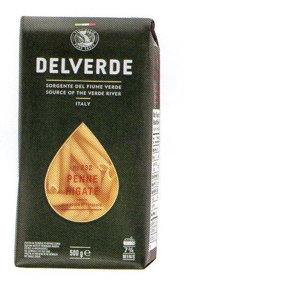 イタリア産 最高級デルヴェルデ(Delverde)N.232 スパゲティ ペンネ リガーテ 太パスタ 500g×20パック
