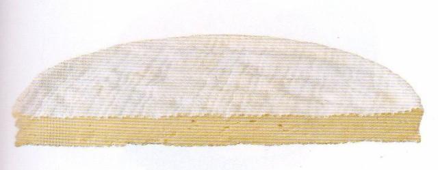 ブリー・ド・モー1/4カット 約650g 白カビチーズ フランス産