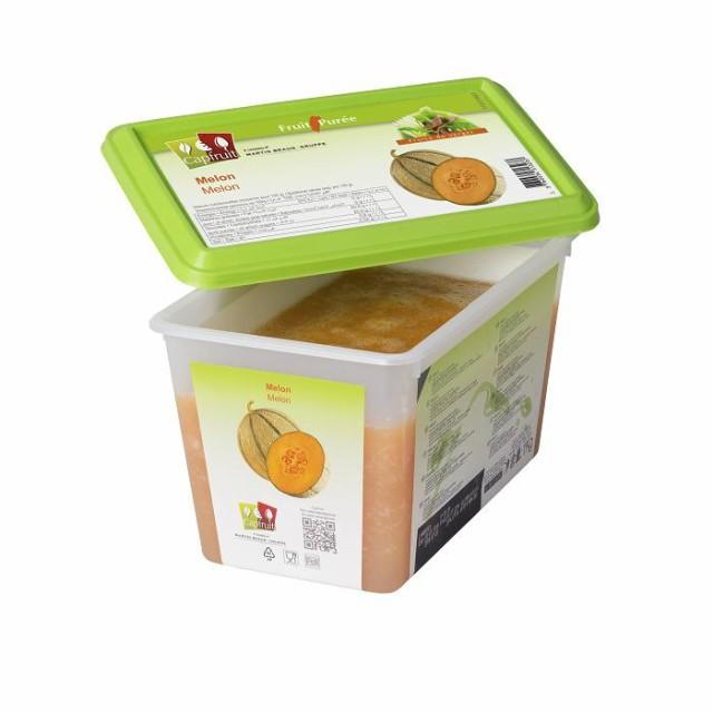 冷凍 フランス産 メロン ピューレ 1kg キャップフリュイ社